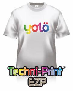Techni-Print EZP Laser Heat Transfer Paper for Light Fabric (inc. wholesale)