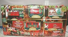 Battery Operated North Pole Express Xmas Train Set Without remote