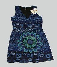 Desigual Kleid Vest Noelia Rep 55V28E8 blau 40 38