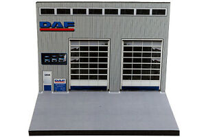 Diorama Garage DAF Trucks - 1/87ème | HO - #HO-2-A-A-001