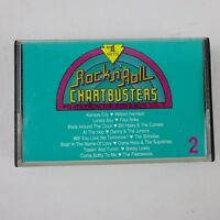 Rock N Roll Chartbusters Volume 2 Cassette Various Artists