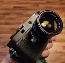 Leica limitierter mattschwarzer Dot M10, M10-R, M9, Q, Q2, M8, M7, M6, M262 #50
