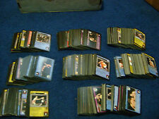 RARE BULK LOT of YEAR 2004 WWE Raw Deal Trading Card Game CARDS (over 750 CARDS)