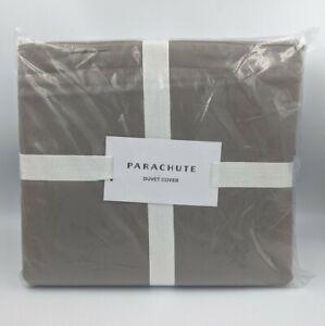 Parachute Duvet Cover Sateen In Fawn, Size Full/Queen