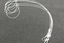 """6 SURVIVAL SNARES RABBIT SNARES SMALL GAME 36"""" LONG 1/16 SURVIVAL RABBIT SNARES"""