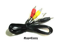 Composite Video Cable Stereo Audio Output Patch Cord AV Out For Gopro HD Hero2