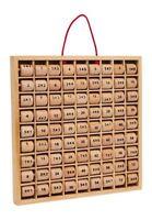 Básica Aritmética Calculadora Multiplicacion Juego Educativo de Madera