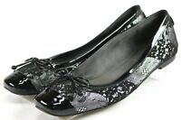 Stuart Weitzman Slip On $180 Women's Loafers Flats Shoes 10 Leather Black