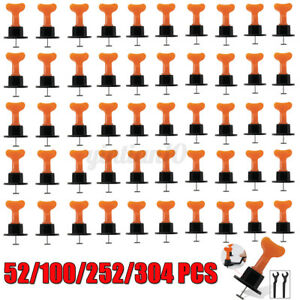 52/100/252Pcs Tile Leveling Positioning System Leveler T-lock Floor Werkzeug