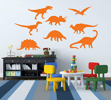 Dinosaur Wall Decals Vinyl kids boys Wall Stickers Mural Decor DIY
