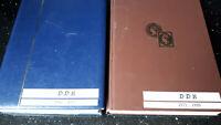 """BRIEFMARKENSAMMLUNG """"DDR 1948 - 1990""""  fette DDR-Sammlung in zwei dicken Büchern"""