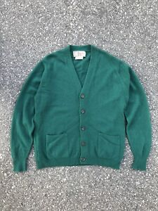 Vintage Alan Paine 100% Pure Cashmere Cardigan, Very Good Condition