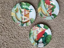 Marys Cottages Sakura 3 decorative salad Plates