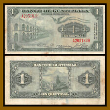 Guatemala 1 Quetzal, 1958 P-36b Circulated