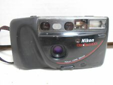 Nikon One-Touch 100 35mm Camera Point & Shoot with Shoulder/Neck Strap