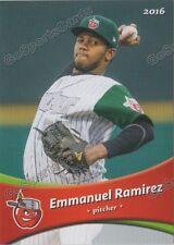 2016 Fort Wayne Tin Caps Emmanuel Ramirez RC Rookie Padres Minor