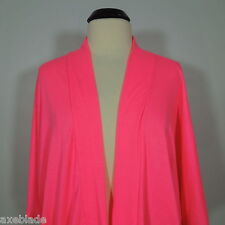 A'GACI A'GACI Open Cardigan  Hot Pink, 3/4 Wide Sleeves size S