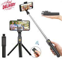 Telescopic Selfie Bluetooth Tripod Monopod Stick Phone Holder For iPhone Samsung