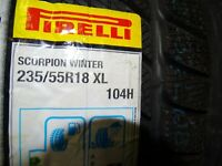 2015 NEU Pirelli Scorpion Winter 235 55 18 XL R18 104H Winterreifen