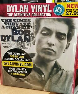 Bob Dylan Vinyl The Definitive Collection Part 1 The Times They Are A-Changin'