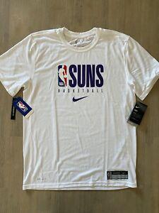 Nike NBA Phoenix Suns Team Issued Practice Shirt CD2749 100 Size M Engineered