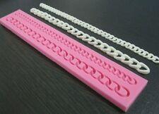 Chain Mold, Purse Chain Silicone Mold, Fondant Chain
