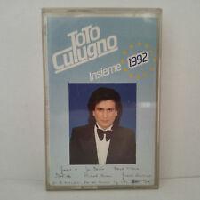 Toto Cutugno – Insieme: 1992  (Cassette Audio - K7 - Tape)