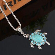 Turquoise Chain Fashion Necklaces & Pendants