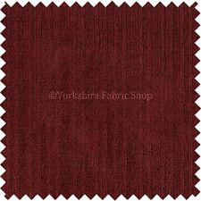 Soft italien chenille upholster matériel de luxe rideau en tissu vins de Bourgogne rouge