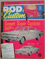 Rod & Custom April 1964 Trad Rat Hot Deuce 1939 Ford Roth Coupe Slot Model Cars