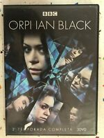 Orphan Black 3° Stagione Completa 3 X DVD BBC Spagnolo Inglese 3T