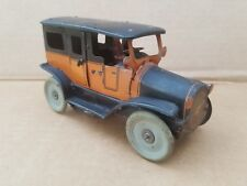 Orobr Germany Tin Wind-up Toy Car Nice Working Early 1920s