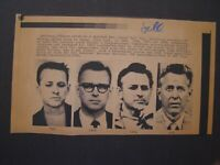 AP Wire Press Photo 1978 James Earl Ray The Four Faces of the Mystery Man