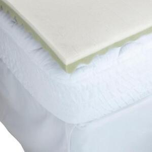 """BeautyRest Beauty Rest Eco-Smart 2"""" Memory Foam Topper - Queen 58"""" x 78"""""""