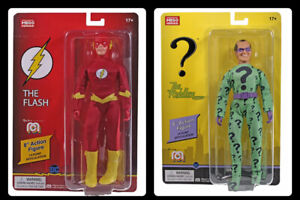 "Mego The Flash The Riddle Lot DC WGSH 8"" Action Figures In Stock! Shipping Now!"