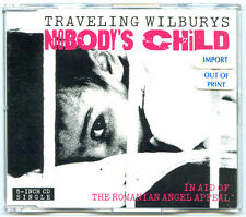 TRAVELING WILBURYS CD SINGLE NOBODY'S CHILD ~ NEW MINT CONDITION