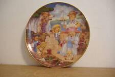 ~Teddy Bear Beach Party~Collector Plate~Franklin Mint~