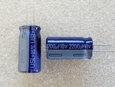 2 condensateurs 2200uF 10V Samsung USL