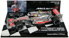 Minichamps McLaren mp4-22 1st podio GP Australia 2007-Lewis Hamilton 1/43