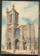 CPA VIERGE TROYES La cathédrale  2178A illustrée par BARDAY DD