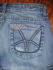 KUT from the Kloth * CAPRI Jeans * STRETCH 5-pkt MED WASH Denim * sz 4 * EUC