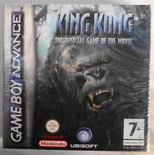 Jeu nintendo game boy advance GBA état neuf boite scellée King Kong