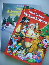2 Bücher Mein liebstes Weihnachtsbuch + Adventskalender zum Selbermachen