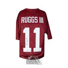 Henry Ruggs III Autographed Alabama Crimson Tide Custom Football Jersey BAS COA