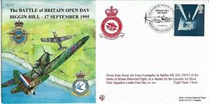 GB 1995 Spitfire Btl of Britain Mem.Flt Open Day Biggin Hill BFPS Spitfire Pict