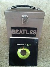 LOT of 45 RPM & BEATLES CARRY CASE UK / US PRESSINGS Picture Sleeve Most NM-