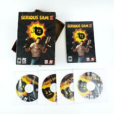 Serious Sam II 2 · PC Game · Complete With Box & 4 CD