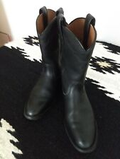 Ariat Heritage Women's Black Roper Cowboy Boots US 7 B  Nice pre-owned