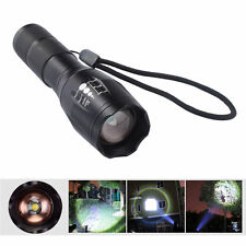 Adjustable Zoomable XML T6 LED 10000LM 18650 Flashlight Focus Torch Lamp Light