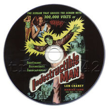Indestructible Man (1956) Lon Chaney Jr. Crime, Horror, Sci-Fi Movie on DVD